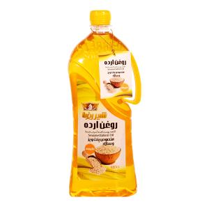 روغن ارده شیررضا حجم 0.98 لیتر