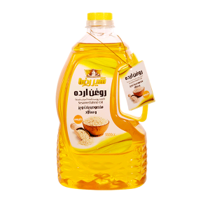 روغن ارده شیررضا حجم 1.8 لیتر