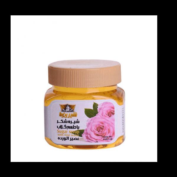 شیره شکر باطعم گلاب شیررضا یک محصول ترکیبی، خوشمزه و پرانرژی است که میتواند مکمل مواد غذایی دیگر باشد.