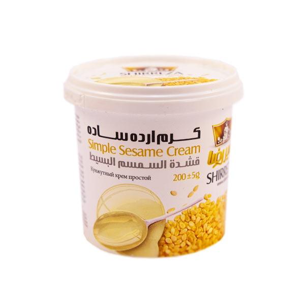 کرم ارده با طعم بادام زمینی شیررضا یک میان وعده یا صبحانه پرطرفدار است که با بسته بندی جدید ارائه شده است.
